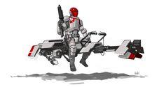 ArtStation - Bounty Hunter, Ambi Dexter