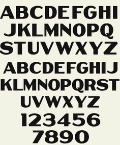 Letterhead Fonts / LHF Thick and Thin / Poster Fonts