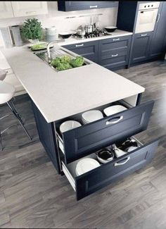 Kitchen Cabinetry - CLICK PIC for Various Kitchen Ideas. #kitchencabinets #kitchenisland