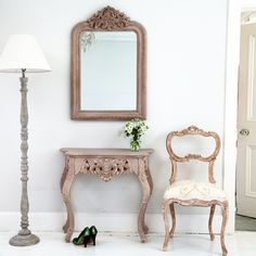 Thank you Ideal Home Magazine and Livingetc for our wonderful press coverage this month! Shabby Chic Console Table, French Console Table, Shabby Chic Lamps, French Walls, French Mirror, French Bed, Ideal Home Magazine, Candlestick Lamps, Side Table Lamps