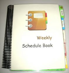 DO THIS!!!!   FULL INSTRUCTIONS.  What's in the Box?: Workbox Scheduling Ideas