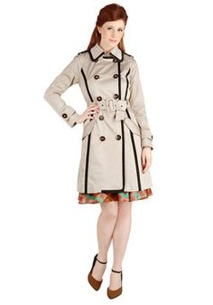 Adept Audition Coat, #ModCloth