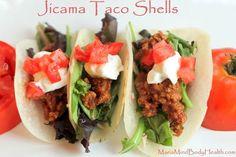Jicama Taco Shells | Try this tasty crispy shell idea instead!