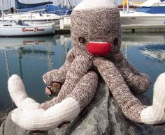 SOCKTOPUS! I made my own version of this for my friend for Christmas last year. She loved it. :)
