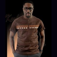 African Shirts For Men, African Clothing For Men, African Men Fashion, African Beauty, African Fashion Dresses, African Attire, African Wear, African Dress, Mens Fashion Wear
