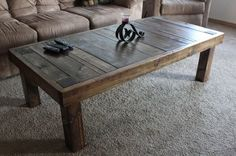 James+James: Built and finished by hand at James James, our unique Pieced Top Coffee Table can be custom built with or without a lower shelf. Looking for a different size? Give us a call!