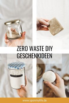 7 simple zero waste gift ideas from the kitchen - UponMyLi .- Just give away Zero Waste DIYs. Birthday children are the most happy about homemade ones. Zero Waste, Diy Birthday, Birthday Gifts, Homemade Birthday, Homemade Gifts, Diy Gifts, Home Crafts, Crafts For Kids, Summer Crafts
