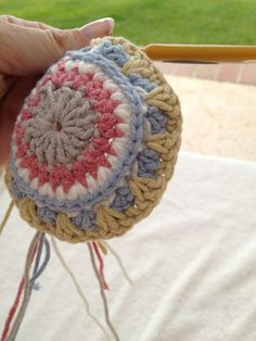 Xmas Crochet Ornament Free Pattern   By AnnooCrochet Designs                          So here I am, in Lanai Hawaii, facing the amazing ...