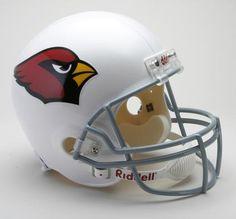 Arizona Cardinals Helmet Riddell Replica Full Size VSR4 Style