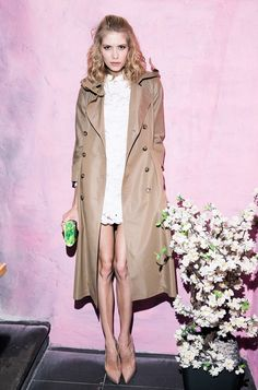 Elena Perminova   (but omg her feet)(not to ruin it)(great outfit)