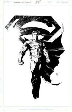 Superman Heroes Con 2013 exclusive by KenHunt on DeviantArt Superman Hero, First Superman, First Superhero, Superman And Lois Lane, Superman Family, Superman Man Of Steel, Black Superman, Batman, Comic Book Characters
