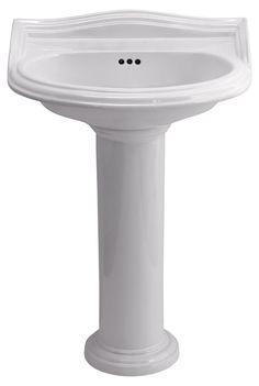 Glass Bathroom Sinks B&Q cooke & lewis octavia full pedestal basin | pedestal basins and