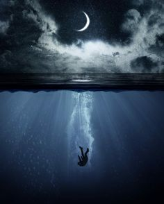 Most Amazing Moon Photography That You Must See ! Anime Scenery Wallpaper, Sad Wallpaper, Galaxy Wallpaper, Nature Wallpaper, Beautiful Wallpaper, Dark Fantasy Art, Art Triste, Architecture Drawing Art, Underwater Art