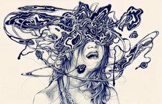Juxtapoz Magazine - Drawings by Corey Best