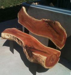 Honey - check out this cedar bench idea! 143