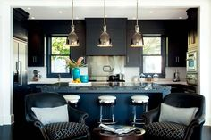Kitchens don't always have to be yellow.