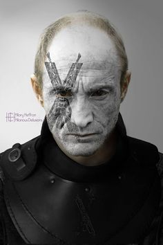 Roose Bolton | Game of Thrones War Paint by Hilary Heffron - Hilarious Delusions