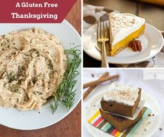 20 Gluten Free Recipes for Your Thanksgiving Menu | Side dish recipes, main dishes, and even gluten free Thanksgiving dessert recipes are in this tasty recipe collection!