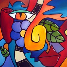 Art 'Growth Spurt - - by Thomas C. Fedro from Color Hippie Painting, Dot Painting, Cuban Art, Cool Art Drawings, Arte Pop, Art Portfolio, Stone Art, Flower Art, Pop Art