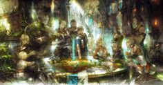 This HD wallpaper is about Final Fantasy XIV, Final Fantasy XIV: A Realm Reborn, video games, Original wallpaper dimensions is file size is Final Fantasy Xiv, Final Fantasy Xv Wallpapers, Fantasy Kunst, Fantasy Art, Realm Reborn, Deck Pictures, Cool Deck, Cg Artwork, Borderlands