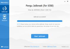 Now you can jailbreak your iDevice running iOS 8. ~ All About Apple