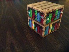 Bookcase - Minecraft perler beads by VoreDrone