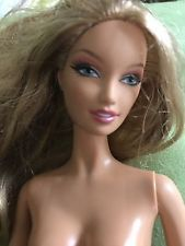 Model Muse Barbie South Beach Lara Face Nude For Ooak Or Play Blonde