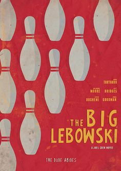 The Big Lebowksi - Movie Poster by Stefano Reves, via Flickr