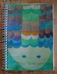 Cuaderno 12x17cm 80 hojas lisas color hueso
