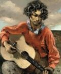 Gypsy with guitar - Marcel Dyf - The Athenaeum