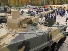 Novas tendências – Canhão de 57 milímetros em nova versão do blindado BMP-3