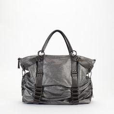 Gunmetal bag $98