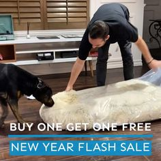 New Year FLASH SALE: Buy One Get One FREE. Once Deal Ends, We Never Run It Again. Cute Puppies, Dogs And Puppies, Animals And Pets, Cute Animals, Dog Body Language, Outside Dogs, Cat Dog, Dog Items, Pet Beds