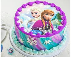 Frozen Sisters Edible Image® by Lucks