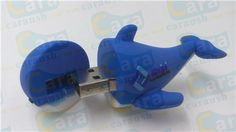 blue dolphin usb drive custom animal promotional gifts  carausb@aliyun.com   may.yuan@carausb.com