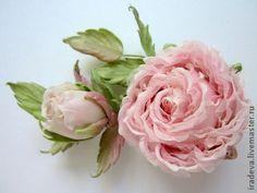 """Цветы ручной работы. Роза из шелка """"Каприз"""".. Ирина Девизорова. Ярмарка Мастеров. Роза ручной работы, подарок на любой случай"""