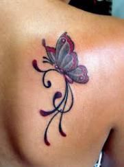 "we are going to talk on a very interesting topic which is based on Butterfly Tattoo Ideas. Checkout Marvelous Butterfly Tattoo Ideas For You To Try"" Butterfly Tattoos Images, Small Butterfly Tattoo, Butterfly Tattoo Designs, Flower Tattoos, Tattoo Images, Tribal Butterfly, Simple Butterfly, Tattoos For Daughters, Sister Tattoos"