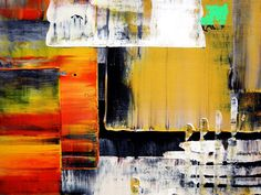 Abstract Painting Original Contemporary Palette Knife by art53