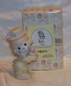 Precious Moments Porcelain Girl Clown 12238/D