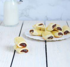 Galletas rellenas de mermelada de higos
