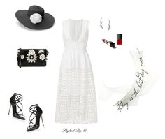 """""""The Best Day Ever!"""" by quintan ❤ liked on Polyvore featuring Nicholas, Emanuel Ungaro, Stefan Hafner, Croft & Barrow, Dolce&Gabbana and NARS Cosmetics"""