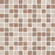 Portobello - Linha: Atelier - Parede - Mosaico - imagem MOS BEGE MIX SQ 30X30 POL - Código de Referência: 97225ET