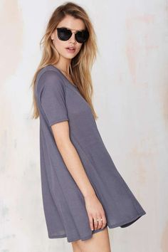 Simple Game Ribbed Dress