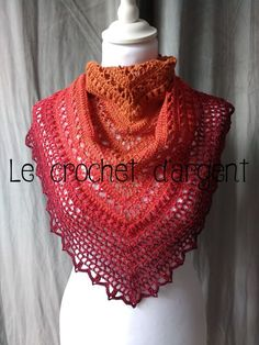 Ravelry: Summer in Sevilla pattern by Le Crochet d'Argent; in one cake of Ice Yarns Cakes Cotton Fine; Sport weight and E hook. Poncho Crochet, Crochet Triangle Scarf, Crochet Shawls And Wraps, Freeform Crochet, Crochet Scarves, Crochet Yarn, Crochet Clothes, Crochet Hooks, Crochet Girls