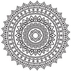 Abundance Mandala Stencil | Temple & Webster