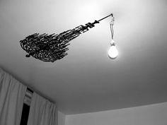 Whata brilliant lighting idea
