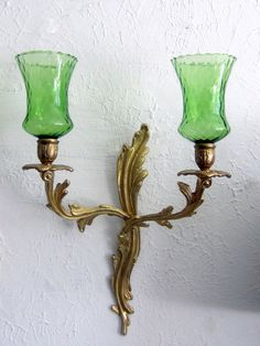 Vintage Gold Tone Brass  French Louis XV Style by JewelsRosesNRust, $38.50