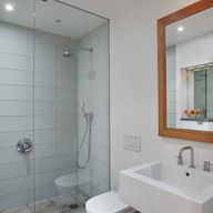 Get ready for your close-up in a bath that's a sanctuary with task, accent, decorative and ambient lighting