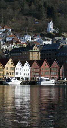 Bryggen,Bergen,Norway.
