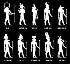 transcending-flesh:  Egyptian Gods